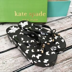 Kate Spade Rhett Sandals Platform Flip Flops Sz 10